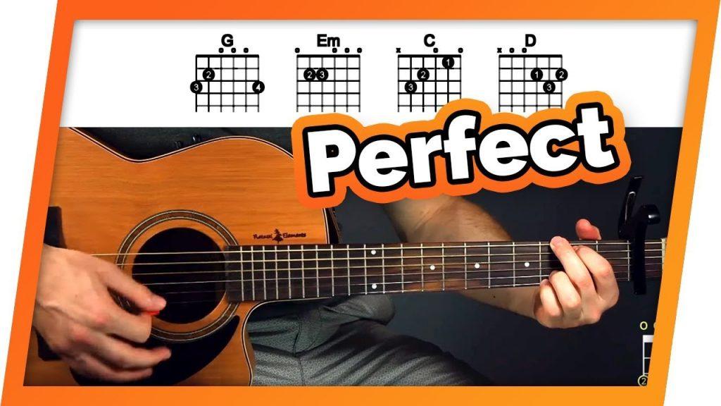 Perfect Guitar Tutorial (Ed Sheeran) Easy Chords Guitar